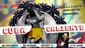 Cuba Caliente @ Public Bar