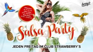 Salsaparty Berrys @ Club Berry's Konstanz